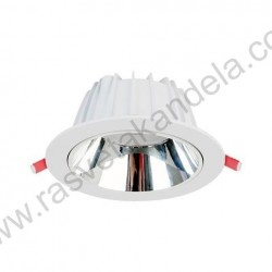 Ugradna LED lampa LUCIA 25W 6400K bela