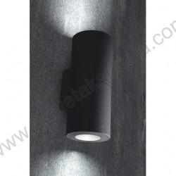Baštenska zidna lampa Fumagali FRANCA 90 2L crna
