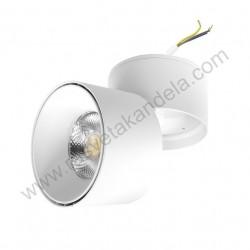 Nadgradna usmeriva LED lampa LDL-ND2-20/W-WH 20W 6400K bela