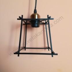 Visilica vintage FURNI metalna crna
