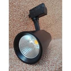LED šinska svetiljka 36W 4200K VARNA crna