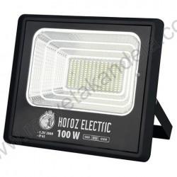 Solarni LED reflektor TIGER 100W 6400K sa solarnom pločom i daljinskim