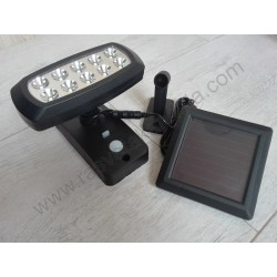 LED solarna lampa WIZARD 2W 6400K sa PIR senzorom