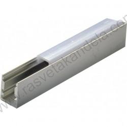 Aluminijumski nadgradni profil MA624 2000 x10 x13 mm