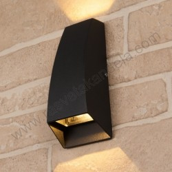 Baštenska zidna LED lampa HL241L SELVI 3,5W crna