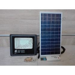 Solarni LED reflektor TIGER 25W 6400K sa solarnom pločom i daljinskim