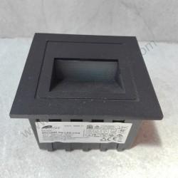 Spoljna ugradna LED lampa 85x85x53mm M953042 3W 4000K crna