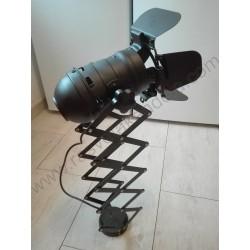 Spot lampa DUZA E27 metalna crna