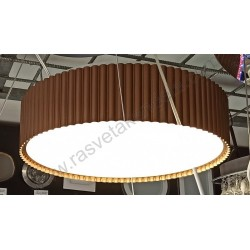 Led plafonjera 46 cm 42W TANIA-AS46 3000-6400K braon sa daljinskim