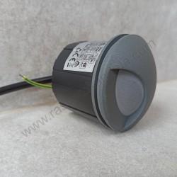 Spoljna ugradna LED lampa M953032 3W 4000K siva