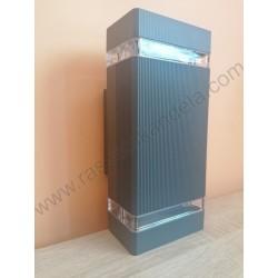 Baštenska zidna lampa 2xGU10 M035 antracit siva