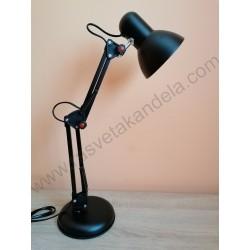 Stona radna lampa MTL2001 E27 crna