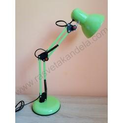 Stona radna lampa MTL2001 E27 zelena