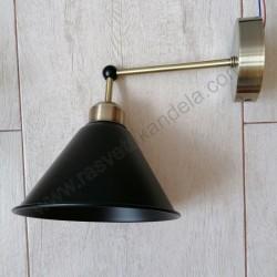 Zidna lampa M11036-1Z crna