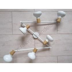 Spot lampa M160641 bela