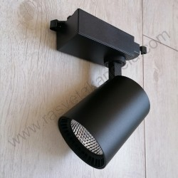 LED šinska svetiljka 18W LYON-18 4200K crna