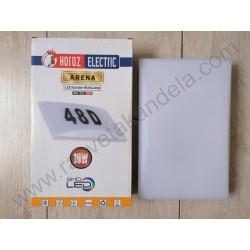 Spoljna zidna LED lampa ARENA KUĆNI BROJ sa foto senzorom 10W 4200K