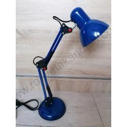 Stona radna lampa MTL2001 E27 plava