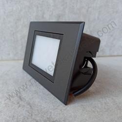 Spoljna ugradna LED lampa M953011 3W 4000K crna