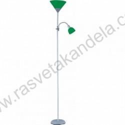 Podna lampa M66 MS zelena