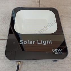 Solarni LED reflektor M452080 60W 6500K sa solarnom pločom i daljinskim