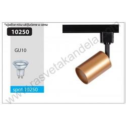 Šinski reflektor GU10 ALWA zlatni