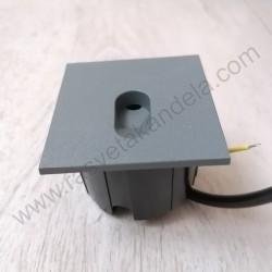 Spoljna ugradna LED lampa M953035 3W 4000K siva