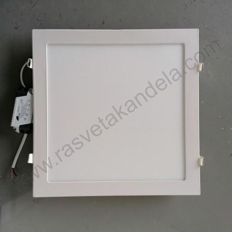 LED panel 24W četvrtast M24UK 6500K
