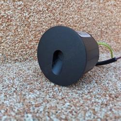 Spoljna ugradna LED lampa M953034 3W 4000K crna