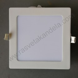 LED panel 12W četvrtast M12UK 3000K