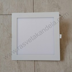 LED panel 18W četvrtast Optonica 6000K