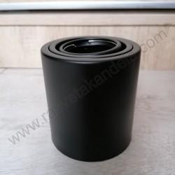 Nadgradna lampa usmeriva 1xGU10 FREZYA-R crna