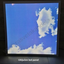 Led panel 3D ugradni NEBO 60 x 60cm 45W 6000K