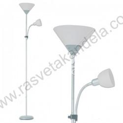 Podna lampa FL202 bela sa belim telom