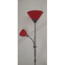 Podna lampa M66 MS crvena