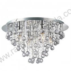 Luster plafonjera prečnik 46cm MG17002-5 akrilni kristali