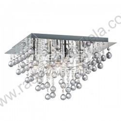 Luster plafonjera 32 x 32cm MG17005-3 akrilni kristali
