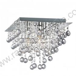 Luster plafonjera 42 x 42cm MG17005-5 akrilni kristali