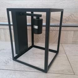 Zidna lampa vintage KAN11072-1Z crna