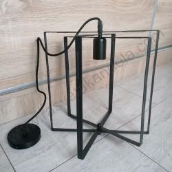 Luster visilica vintage NOBEL metalna crna