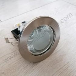 Rozetna metalna - ugradna lampa HL600 mat hrom