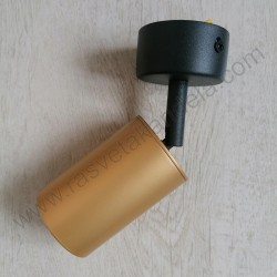 Spot lampa GU10 ARTE mat zlatna