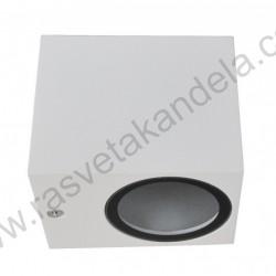 Baštenska zidna lampa 1xGU10 M952021 bela