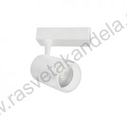 LED šinska svetiljka 30W MONACO 4200K zoomable bela