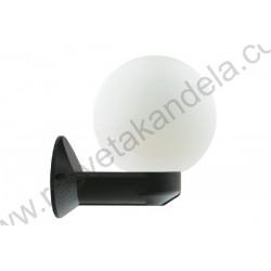 Baštenska zidna lampa 1xE27 GARDENIA-D crna