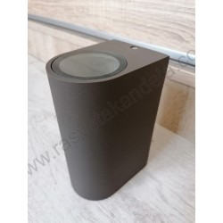 Baštenska zidna lampa 2xGU10 M952010 B braon