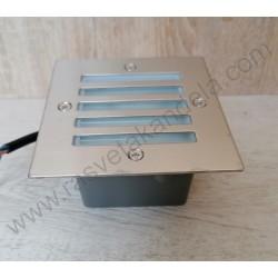 Ugradna LED lampa 1,6W HL943L AKIK mat hrom