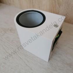Baštenska zidna lampa 1xGU10 M952011 mat bela