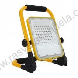 LED reflektor prenosivi sa Li-on baterijom M452050 50W 6500K+SOS