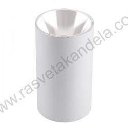 Nadgradna lampa 1xGU10 ANNA-R bela